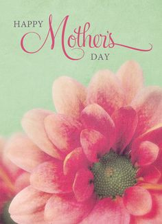 Cardstore makes it easy to personalize and mail Mother's Day cards like Pink Flower for Mom card. Just add your own photos, text and a signature to a simply stated Mother's Day cards and we'll mail it for you!