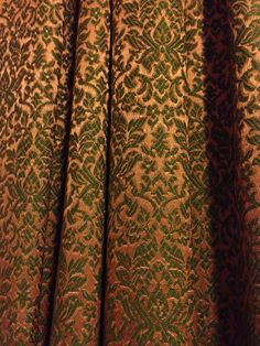 Vintage curtains from grandmothers house