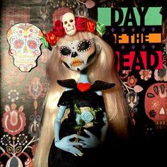 OOAK-DOLL-Monster-High-La-Catrina-II-Dia-De-Los-Muertos-2015