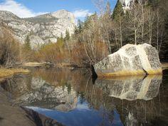 https://flic.kr/p/Co6FQ6   Mirror Lake   Mirror Lake at Yosemite National Park. Mariposa County. California, United States. Copyright 2015 Kyller Costa Gorgônio.