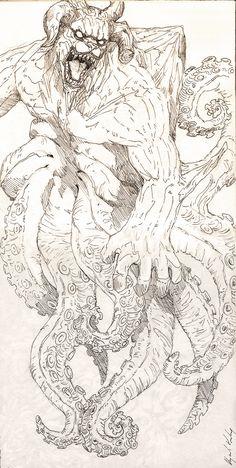 -Gyuki-Bijuu dama- by Abz-J-Harding on DeviantArt Anime Naruto, Naruto Uzumaki, Manga Anime, Naruto Fan Art, Naruto And Sasuke, Boruto, Naruto Drawings, Naruto Sketch, Anime Sketch