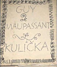Audiokniha - Guy de Maupassant -  Kulička