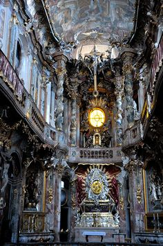 Cathedral in Munich. I've been here and it is so beautiful! Words can't describe how amazing it is.