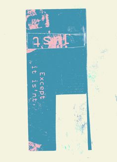 Just that - collage mila blau