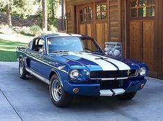 1965 Ford Mustang Fastback. I want an old sports car