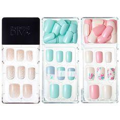 Dashing Diva Magic Press Self Gel Nail Art Polish 30 Tips Korea Cosmetic Gel Nail Art, Gel Nails, Gel Color, Swag Nails, How To Do Nails, Nail Art Designs, Diva, Korea, Polish