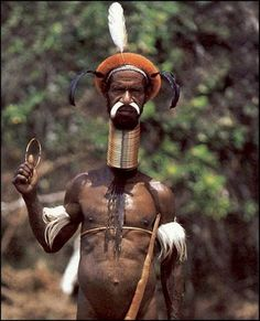 Body modification: In a few African and Asian cultures neck rings are worn usually to create the appearance that the neck has been stretched. The length of the coil is gradually increased to as much as twenty turns, sometimes beginning at the age of 2. The weight of the coils will eventually place sufficient pressure on the shoulder blade to cause it to deform and create an impression of a longer neck. The custom of wearing neck rings is related to an ideal of beauty.