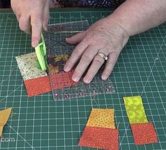 The Crumb quilt technique is a way to use up small scraps of fabric. You make a new piece of fabric from scraps to use for sewing and quilting projects Quilting Tips, Quilting Tutorials, Machine Quilting, Quilting Projects, Quilting Designs, Crazy Quilting, Modern Quilting, Longarm Quilting, Craft Tutorials