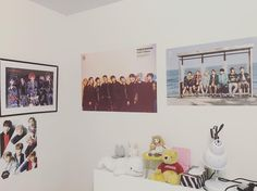 Update. I'll share the other parts of my wall after I rearrange them :3 #bts #toppdogg #codomodragon