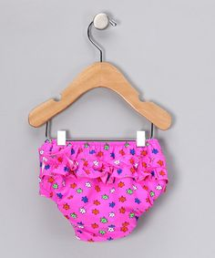 Take a look at this Pink Flora Swim Diaper - Infant by A Little Splash on 169a92dbcb