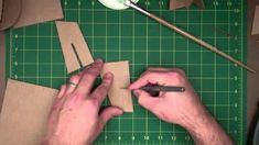 "Part 2 of technique demonstrations for sculpting with cardboard. Includes gluing - the ""set it and forget it"" technique, slotting, and piercing."