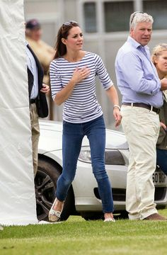 Kate & George watch daddy, Prince William, play polo on father's day | HRH Duchess of Cambridge