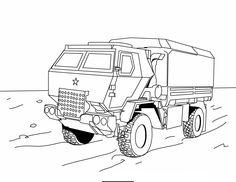 8 Best Military Vehicles Coloring Pages Images Coloring Pages For
