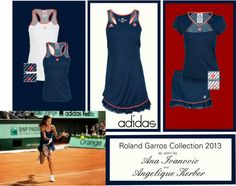 """adidas 2013 Women's Roland Garros Collection"" by tennisexpress on Polyvore"