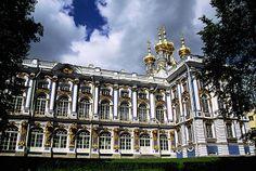 My favorite home Catherine Palace in Tsarskoe Selo (aka Pushkin)