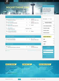 Alerion phpBB Style, Premium phpBB3 theme from RocketTheme