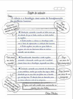 Modelo de redação dissertativa