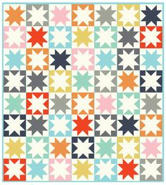"""Silently, one by one, in the infinite meadows of heaven,Blossomed the lovely stars, the forget-me-nots of the angels."" ― Henry Wadsworth Longfellow, Evangeline: A Tale of Acadie Oh Henry. You get me. And when I make star quilt blocks, I think I might get you too. After cutting up so much fabric, carefully sewing it …"