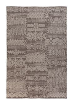 A topshot of 'Outsider - Chocolate Grey' by Limited Edition. Outsider is made out of woven vinyl and suitable for both in- and outdoor use. | www.le.be | Collection 2015 #bespoke #outdoor #rugs #carpets #madeinbelgium #originalpattern