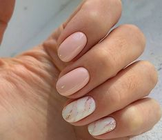 What manicure for what kind of nails? - My Nails Manicure Nail Designs, Nail Art Designs, Nails Design, Manicure Ideas, Short Nail Designs, Light Pink Nail Designs, Latest Nail Designs, Marble Nail Designs, Design Design