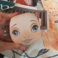 Instagram media torrytoys - Ну и что, что нет тела? Зато есть уже личико, и это значит скоро будет новая малышка #torrytoys #процессторри #скоробудет