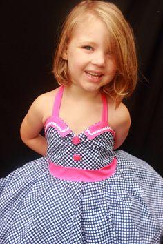Vintage Style Polka Dot Dress