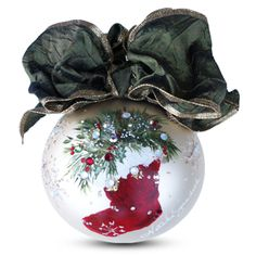 Christmas Stocking Ornament | Natalie Sarabella