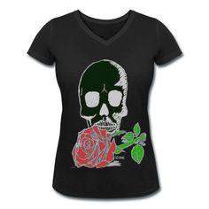 schwarz,tshirt,woman