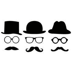 lunettes et chapeaux melon