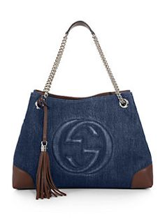 Gucci - Soho Denim Shoulder Bag