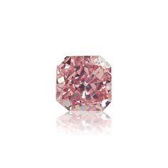 #Carat, #Sothebys, #Diamond, #Auction, #Jewelry, #Bling, #GIA, #Argyle, #EngagementRing, #DiamondRing, #PinkDiamonds, #ColoredDiamonds 0.14 Carat natural fancy intense purplish pink diamond. A nice radiant cut diamond with sweet color. Retail value is over 25,000$ per carat. Certified natural by GIA.