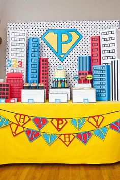 Hostess with the Mostess® - Vintage Pop Art Inspired Super Hero Party