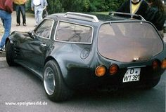 An awesome Opel wagon.