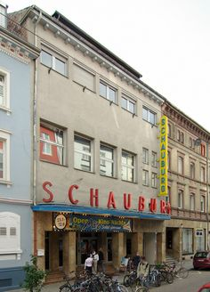the Schauburg (movie theatre) in Karlsruhe, Germany. My Grandmother lived around the corner