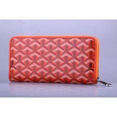 Goyard Portefeuille Orange 1.Marque  : goyard 2.Style  : Goyard Portefeuille 3.couleurs : Orange 4.Matériel :PVC avec cuir 5.Taille: W19cm×H10cm