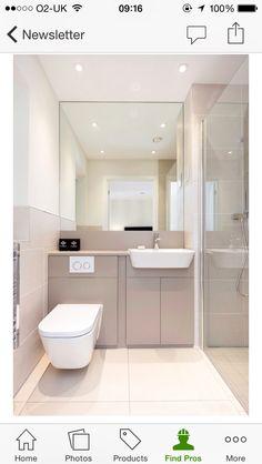 moderne Badezimmer von WN Interiors of Poole in Dorset Bad Inspiration, Bathroom Inspiration, Contemporary Bathrooms, Modern Bathroom, Bathroom Gray, Small Bathroom Layout, Small Bathrooms, Fitted Bathroom, Small Room Design