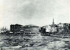 A view from the Battery.. New York City 1853