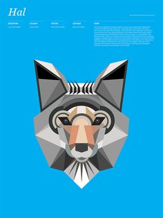 Cant get enough of these geometric animals.