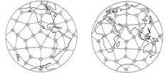Geometria Sagrada  Pontos energéticos da Terra