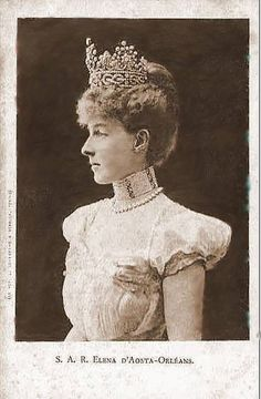 Princesse Hélène d'Orléans (1871-1951) épouse du duc Emmanuel-Philibert (1869-1931)