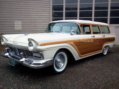 1957 Ford woody
