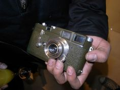 Leica M3 olive drab re-paint