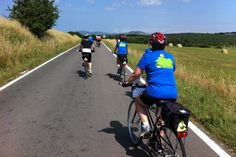 Biking through #Tuscany on VBT's Tuscany by the Sea vacation. #Italy