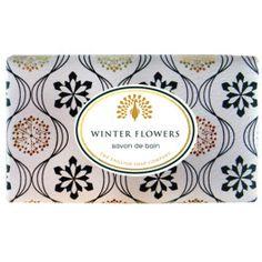 Savon de bain Winter flowers 200 g (The English soap Company)
