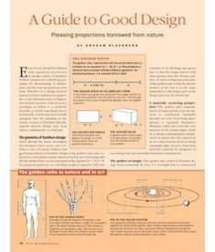 The Golden Ratio - A Guide to Good Design