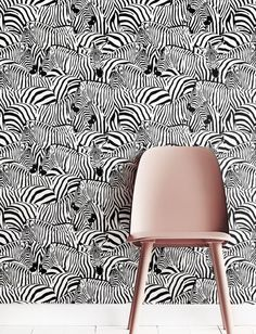 ▼▲▼ Inspired by Nature! ▼▲▼  Jazz up your space with our awesome, removable monochrome zebra-patterned self-adhesive wallpaper. Our bold and breathtaking peel and stick wallpaper is custom-made to your specifications, printed on a matte vinyl base.    ▼▲▼ Renters rejoice! ▼▲▼  Its remarkably easy to apply (no special tools, glue or adhesive necessary), and can be repositioned or removed just as easily, with no trace left behind. Make an impact with a single statement wall or apply to…