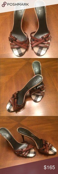 Burberry Sandals Burberry Sandals. Runs small Burberry Shoes Sandals