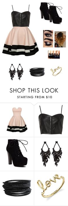 """Super Star"" by petite-chic ❤ liked on Polyvore featuring Witchery, Pieces and Sydney Evan"
