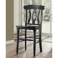 Clifton Elegance Counter Stool - Black - Set of 2