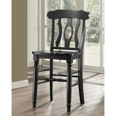 Clifton Elegance Counter Stool - Black - Set of 2